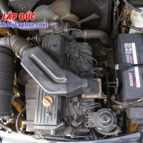 Xe nâng 2.5 tấn máy dầu KOMATSU FD25T-17 giá rẻ