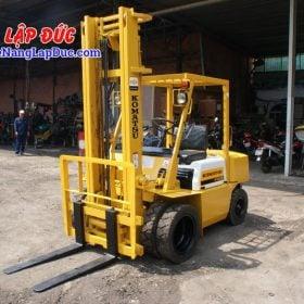 Xe nâng KOMATSU máy dầu 2.5 tấn FD25L-8 # 160080 giá rẻ