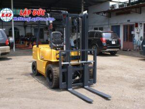 Xe nâng dầu MITSUBISHI cũ 2.5 tấn - 3 tấn nâng cao 3m 19