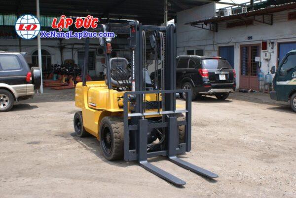 Xe nâng dầu MITSUBISHI cũ 2.5 tấn - 3 tấn nâng cao 3m 16