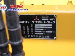 Xe Nâng Dầu 3 tấn MITSUBISHI FD30 # 36451 34
