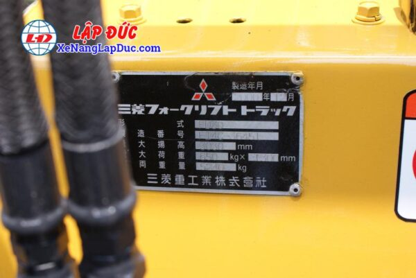 Xe Nâng Dầu 3 tấn MITSUBISHI FD30 # 36451 21