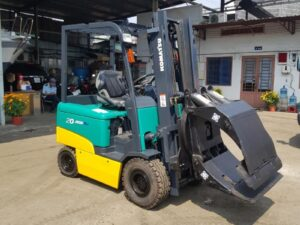 Xe nâng điện ngồi lái KOMATSU 2 tấn FB20EX-11