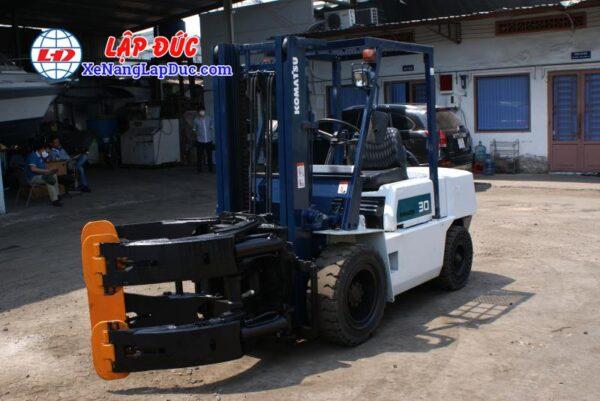 Xe nâng dầu KOMATSU 3 tấn FD30-10 #23197 giá rẻ