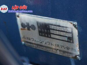 Xe nâng KOMATSU 3 tấn động cơ dầu FD30-10 #23197 giá rẻ