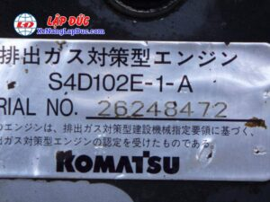 Xe cuốc KOMATSU 128US-2 # 5153