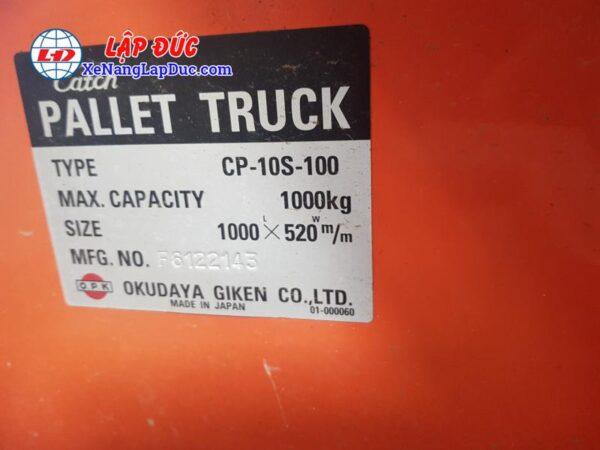 xe nâng tay OPK 1000kg