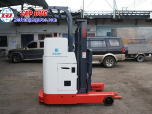 Xe nâng điện đứng lái cũ 1.5 tấn NICHIYU FBR15 giá rẻ