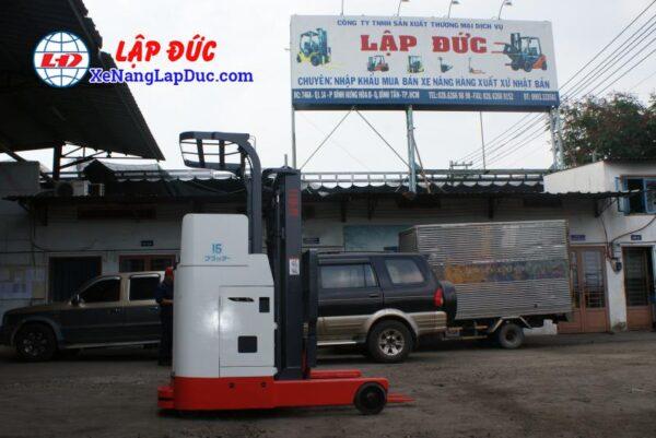Xe nâng điện đứng lái NICHIYU 1.5 tấn FBR15 giá rẻ
