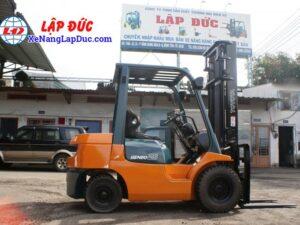 Xe Nâng Dầu TOYOTA 2.5 tấn 7FD25 # 16189 12
