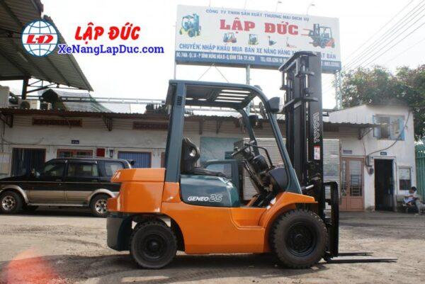 Xe Nâng Dầu TOYOTA 2.5 tấn 7FD25 # 16189 2