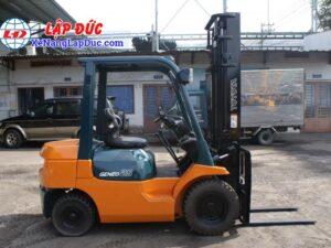 Xe Nâng Dầu TOYOTA 2.5 tấn 7FD25 # 16189 17