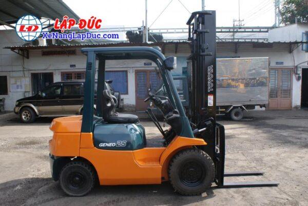 Xe Nâng Dầu TOYOTA 2.5 tấn 7FD25 # 16189 8