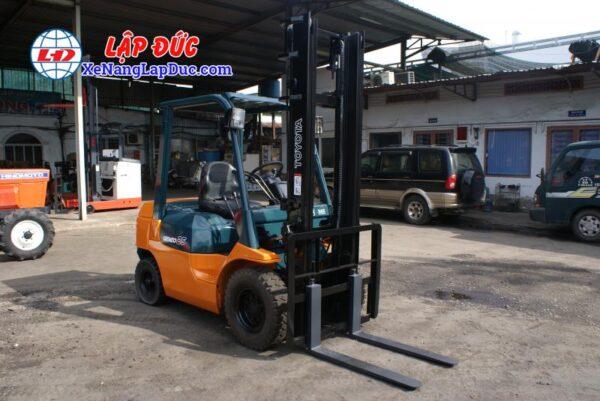 Xe Nâng Dầu TOYOTA 2.5 tấn 7FD25 # 16189 5
