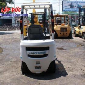 Xe nâng xăng 1 tấn NISSAN NP1F1 # 400155 giá rẻ