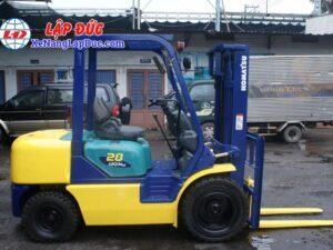 Xe Nâng Xăng 2.8 tấn KOMATSU FG28C-14 # 558466 13