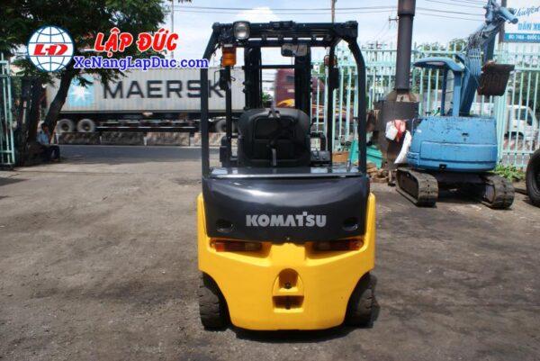 Xe Nâng Điện Ngồi Lái Cũ 2.5 tấn KOMATSU FB25-12 # 100780 4