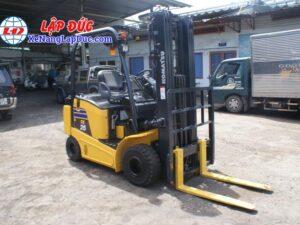 Xe nâng điện 1.5 tấn - 2.5 tấn cũ hiệu KOMATSU 15