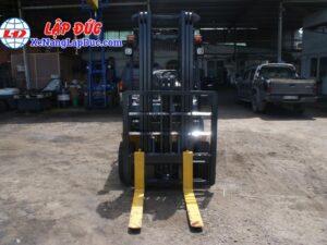 Xe Nâng Điện Ngồi Lái Cũ 2.5 tấn KOMATSU FB25-12 # 100780 18