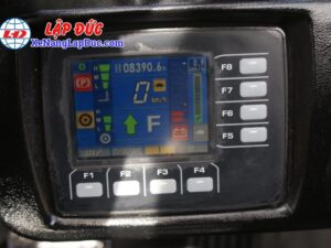 Xe Nâng Điện Ngồi Lái Cũ 2.5 tấn KOMATSU FB25-12 # 100780 22