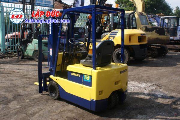 Xe nâng điện 1.5 tấn - 2.5 tấn cũ hiệu KOMATSU 6