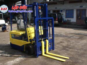 Xe nâng điện 1.5 tấn - 2.5 tấn cũ hiệu KOMATSU 12
