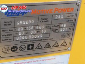 Xe Nâng Điện Đứng KOMATSU FB18RL-14 # 141271 22