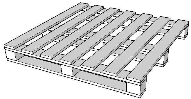 Pallet gỗ, Pallet nhựa, Pallet sắt, Pallet giấy. Các loại pallet phổ biến trong kho hàng 2