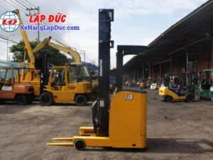 Xe nâng điện 1.5 tấn - 2.5 tấn cũ hiệu KOMATSU 11