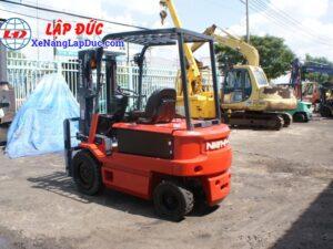 Xe nâng điện ngồi lái 3 tấn NICHIYU FB30PN-60-300 14