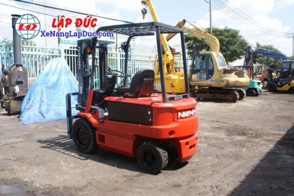 Xe nâng điện ngồi lái 3 tấn NICHIYU FB30PN-60-300 2