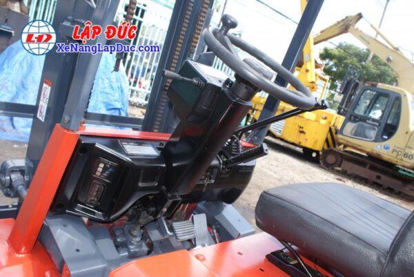 Xe nâng điện ngồi lái 3 tấn NICHIYU FB30PN-60-300 10