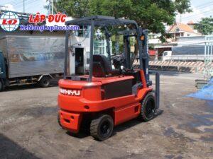 Xe nâng điện ngồi lái 3 tấn NICHIYU FB30PN-60-300 16