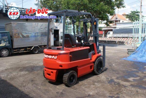 Xe nâng điện ngồi lái 3 tấn NICHIYU FB30PN-60-300 4