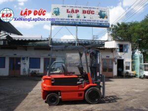 Xe nâng điện ngồi lái 3 tấn NICHIYU FB30PN-60-300 17