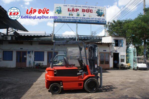 Xe nâng điện ngồi lái 3 tấn NICHIYU FB30PN-60-300 5