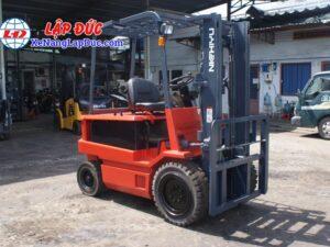 Xe nâng điện ngồi lái 3 tấn NICHIYU FB30PN-60-300 18