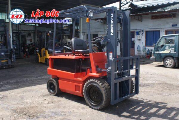 Xe nâng điện ngồi lái 3 tấn NICHIYU FB30PN-60-300 6