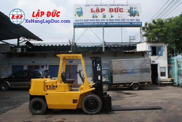 Xe Nâng Dầu TCM FD35Z5 # 43201273 5