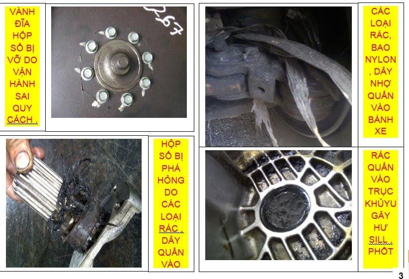 Hộp số xe nâng hàng: Cấu tạo, hư hỏng và cách khắc phục 5