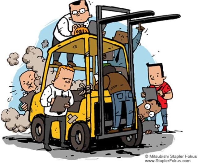 bảo trì xe nâng hàng