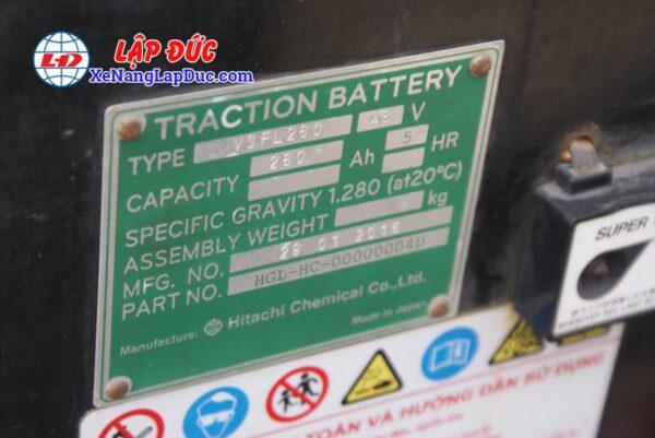 Xe Nâng Điện Đứng TCM FRB10 # 78F00121 7
