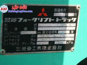 Xe Nâng Dầu 2 Tấn MITSUBISHI FD20D 16