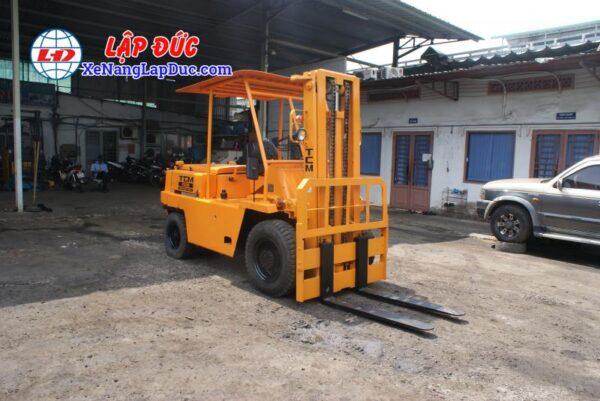 Xe Nâng Dầu 3500kg TCM FD35 4