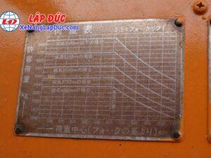 Xe Nâng Dầu 3500kg TCM FD35 19