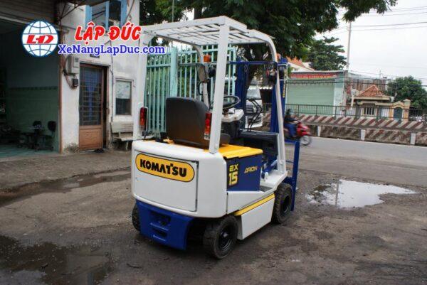 Xe Nâng Điện Ngồi Lái 1500kg KOMATSU FB15EX-7 4