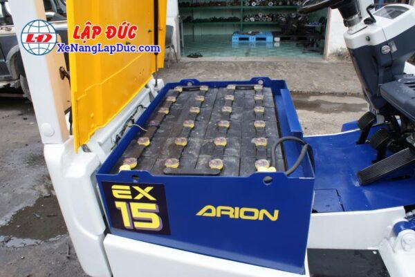 Xe Nâng Điện Ngồi Lái 1500kg KOMATSU FB15EX-7 9