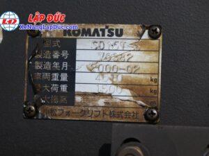 Xe Xúc Nâng Máy Dầu KOMATSU SD15-5 17